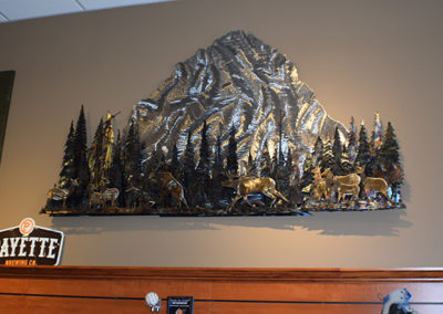 Metal Mountain Art